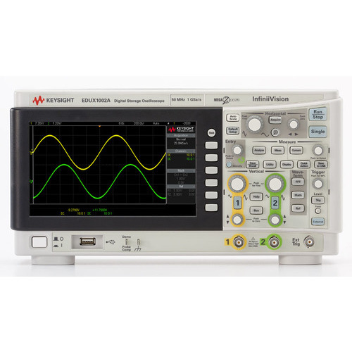 Keysight EDUX1002A Digital Storage Oscilloscope
