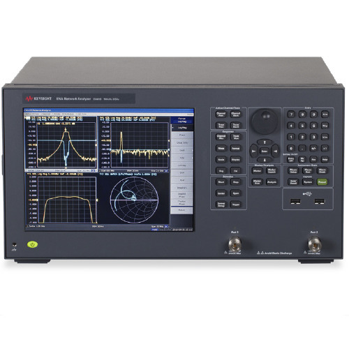 Keysight E5061B/215/722/732 ENA Vector Network Analyzer, S-param. test set, 100 kHz to 1.5 GHz, 50 Ohm