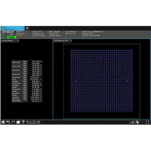 Keysight N9077EM1E WLAN 802.11ac/ax Measurement Application, PathWave X Series