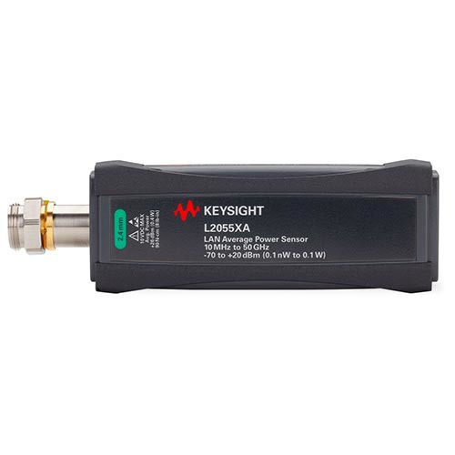 Keysight L2055XA/053/100 LAN Wide Dynamic Range Average Power Sensor, 10 MHz to 53 GHz