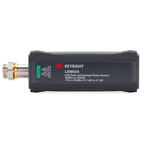 Keysight L2065XA/053/100 LAN Wide Dynamic Range Peak & Average Power Sensor, 10 MHz to 53 GHz