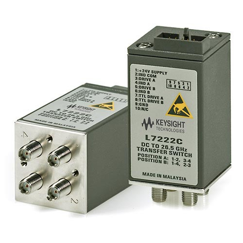 Keysight L7222C/100 Coaxial Transfer Switch, DC to 26.5 GHz