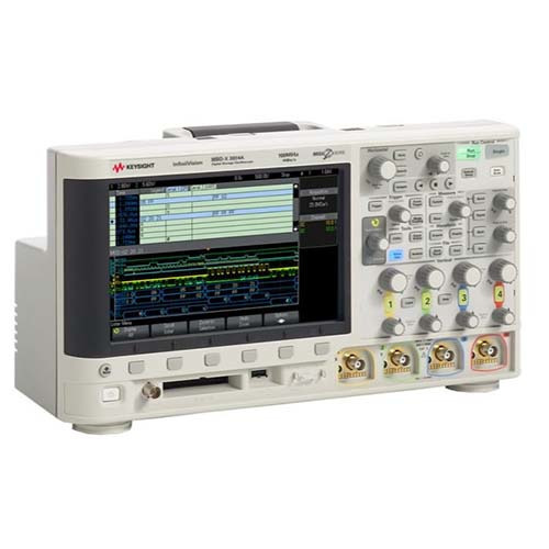 Keysight MSOX3014A Mixed Signal Oscilloscope