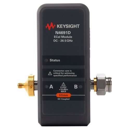 Keysight N4691D/F0F Electronic Calibration Module (ECal), 26.5 GHz, 3.5 mm, 2-port