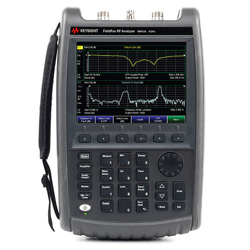 Keysight N9912A/106 FieldFox Handheld RF Analyzer, 6 GHz