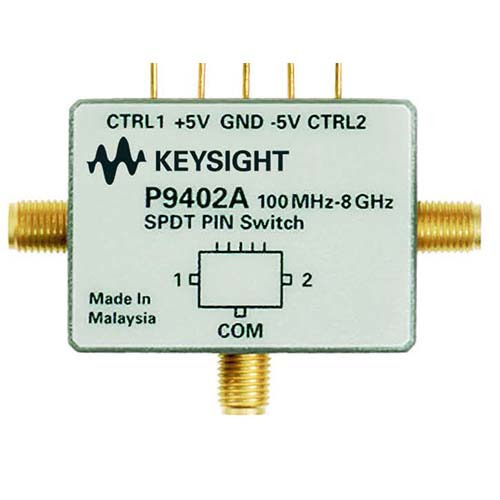Keysight P9402A PIN Solid State Switch, 100 MHz to 8 GHz, SPDT