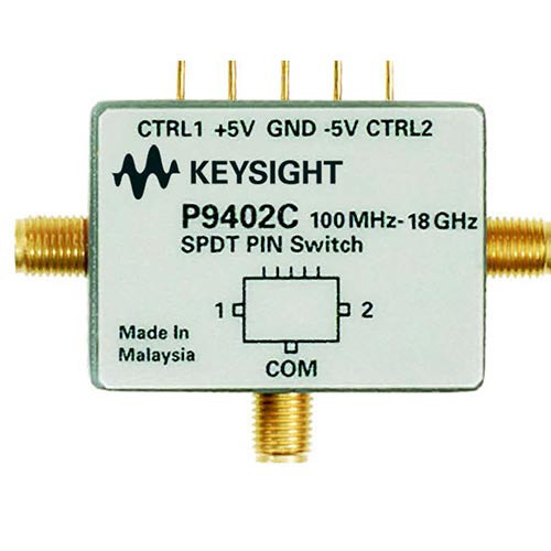 Keysight P9402C PIN Solid State Switch, 100 MHz to 18 GHz, SPDT