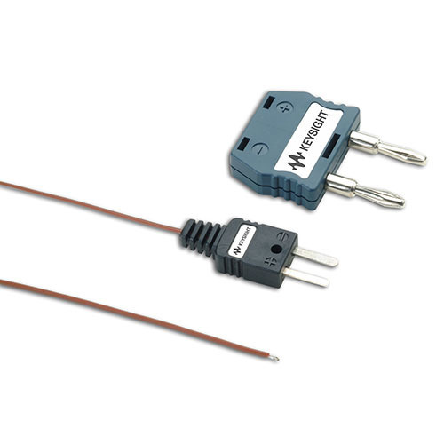 Keysight U1185A J-Type Thermocouple and Adapter