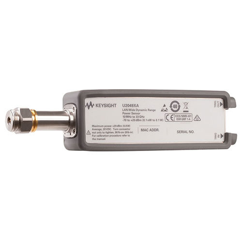 Keysight U2049XA/TVA/U2033A/U2036A/U2037A LAN Peak & Average Power Sensor, TVAC, 10 MHz to 33 GHz