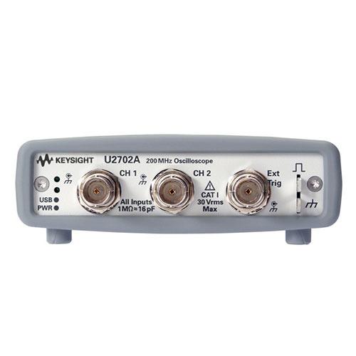 Keysight U2702A 200 MHz USB Modular Oscilloscope