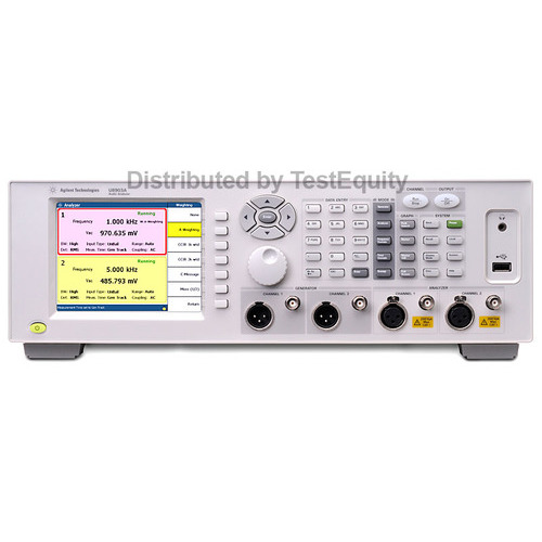 Keysight U8903A-113 Audio Analyzer, 2 Channel