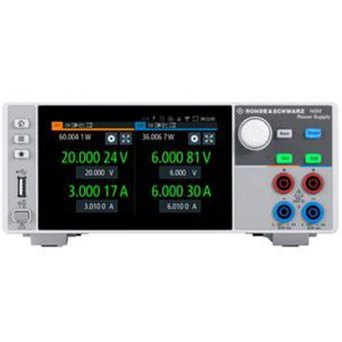 Rohde&Schwarz-NGM-COM2a-Front-Power-Supply