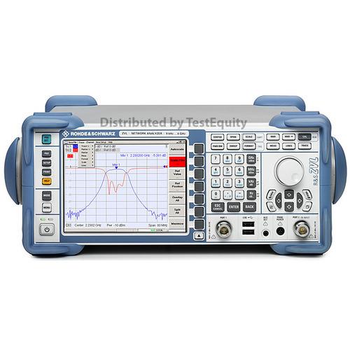 Rohde & Schwarz ZVL6 06 Vector Network Analyzer | TestEquity