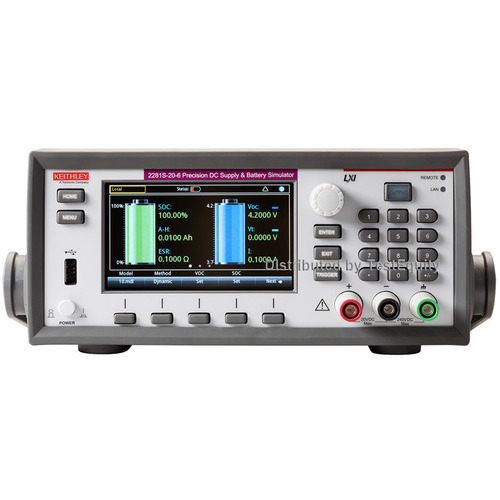 Keithley 2281S-20-6 Precision DC Supply and Battery Simulator