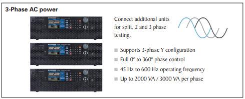 B&K Precision 3-Phase AC Power