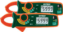 Extech MA61, MA63 60A True RMS Clamp Meters