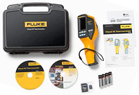 Included with Fluke VT02 Visual IR Thermometer