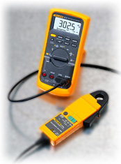 Fluke i30 current clamp meter, Fluke 87V Digital Multimeter
