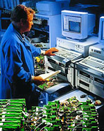 Keithley 2400 Series SourceMeters facilitate production testing