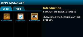 DMM6500 application programs