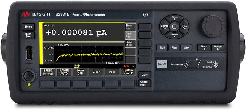 Keysight B2981B Femto/Picoammeter