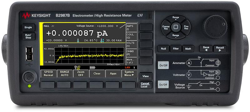 Keysight B2987B Electrometer/High Resistance Meter
