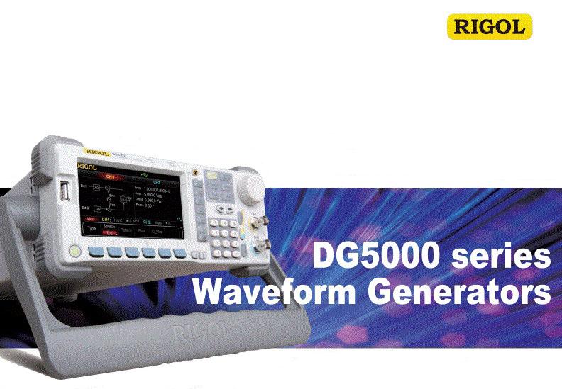 RIGOL 5000 Series Arbitrary Waveform Generators