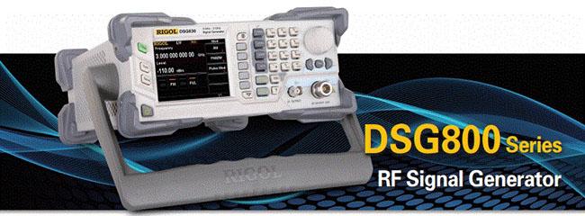 RIGOL DSG800 Series RF Signal Generators