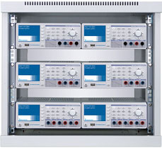 "R&S HMC804x series instruments can be integrated into 19"" racks"