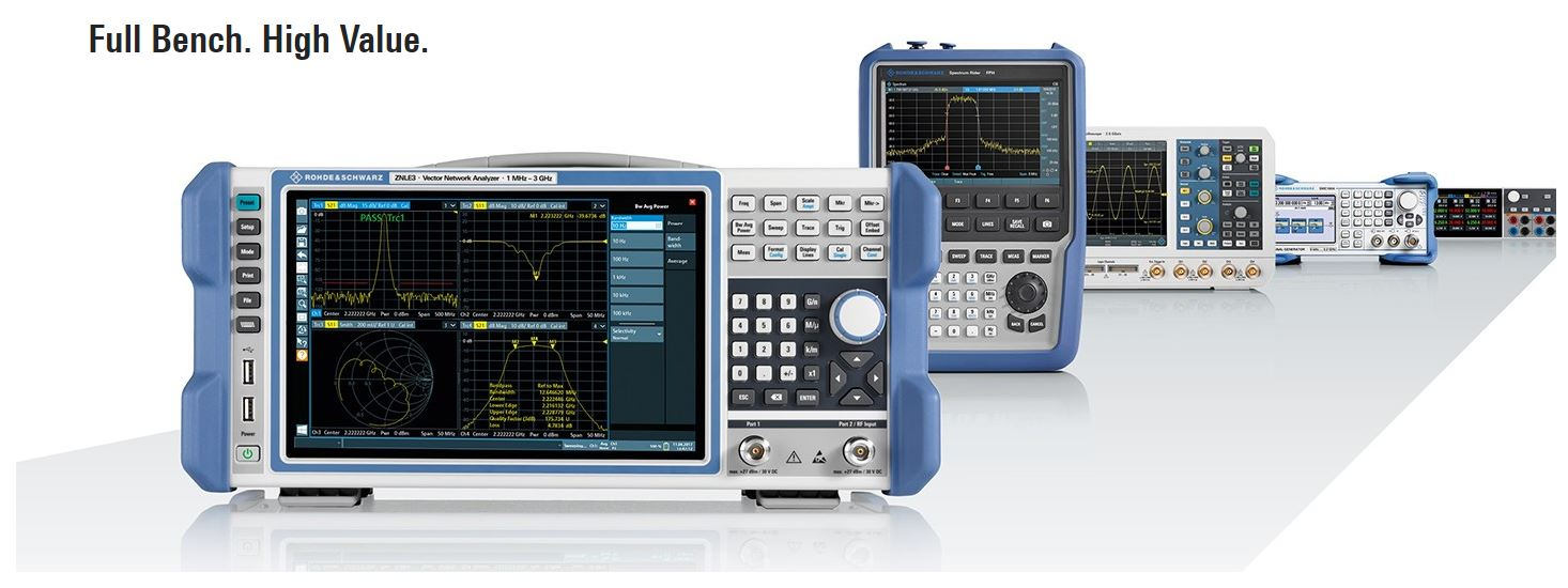 R&S FPL1003-P6 Spectrum Analyzer Bundle