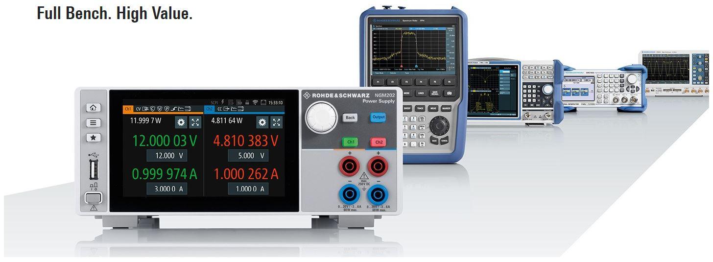R&S NGP824COMA NGP800 Series DC Power Supply