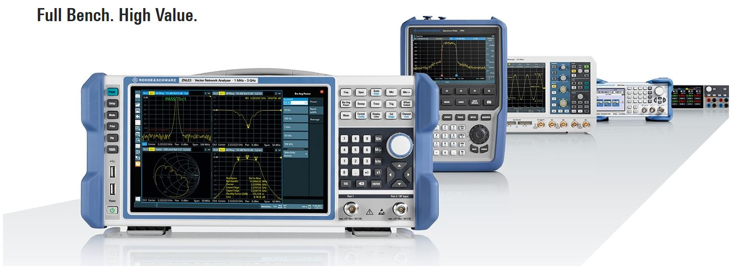 R&S ZNL6 Vector Network Analyzer Bundle