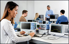 RTB2000 oscilloscopes in teaching labs
