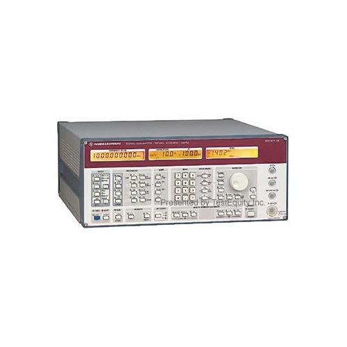 Rohde & Schwarz SMHU58/B4 RF Signal Generator