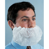 Disposable beard covers for safety and compliance