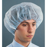 Disposable bouffant caps for safety and compliance