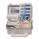 First aid kits and eye wash station kits for personal protection\