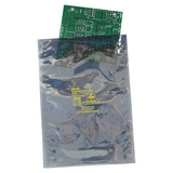 Static shield bags and pouches, labels and other packaging accessories