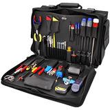 Coax and CATV tool kits, electronics tool kits, and networking tool kits