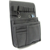 Tool belts and tool belt accessories for on-the-go tool organization