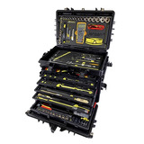 Tool cases, tool pouches, tool pallets, and foam for tool control